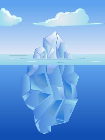 berg: Ice berg vector icon