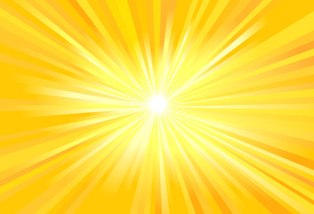 Sun rays vector illustration