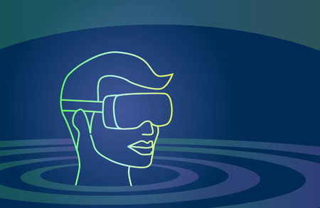 Virtual reality vector