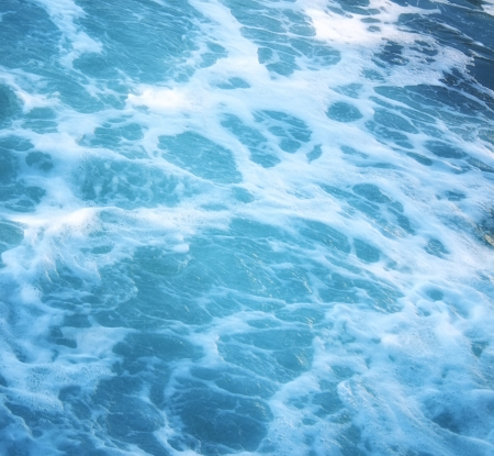 breaking wave: Sea waves background