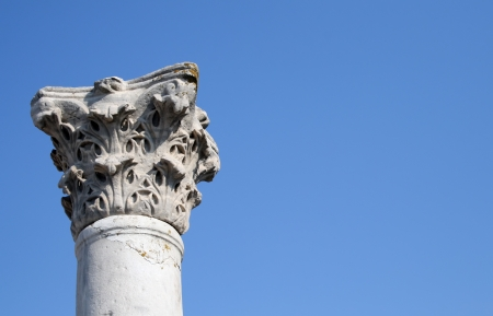 Ancient columns photo