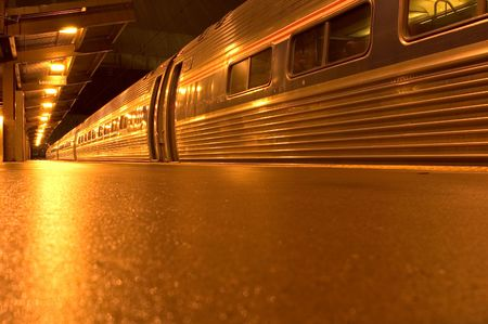 Last train from NYC to DC