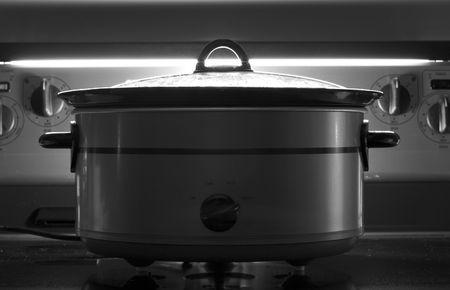 to let: Lasciate cuocere per tutta la notte  Archivio Fotografico