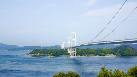 Kurushima-Kaikyo Bridge Stock fotó