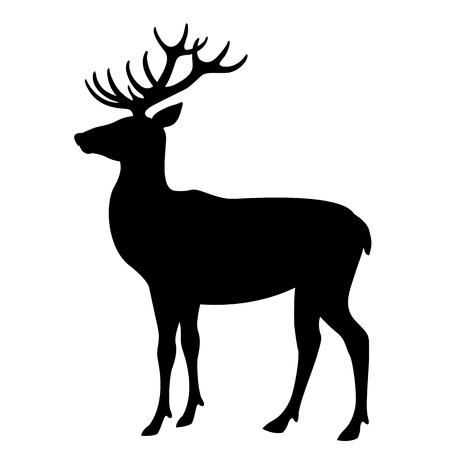 Illustration vectorielle de cerf