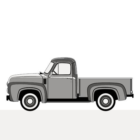 ramassage, illustration vectorielle, style plat, côté profil Vecteurs