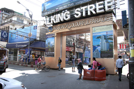 Walking Street  is a popular tourist attraction.
