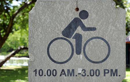 lane: Bicycle sign, Bicycle Lane