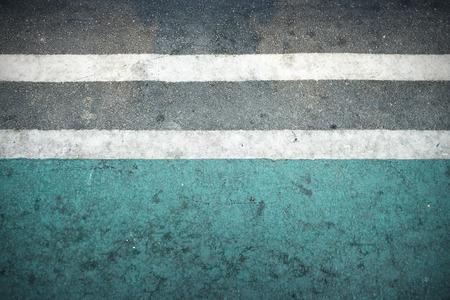two lane highway: street