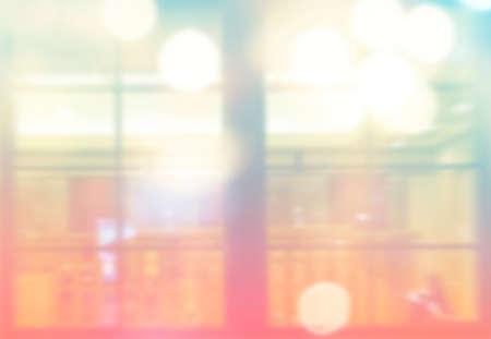 Defocused bokeh light, abstract at night