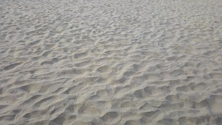 close up of sea beach sand or Desert sand for texture and background Stock Photo