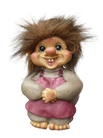 brute: Miniature troll from Norway Stock Photo
