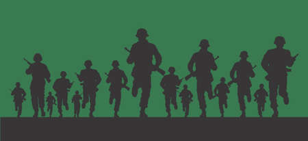 vector images: Army Design Illustration