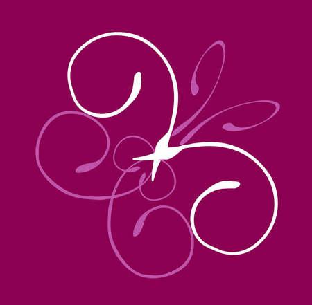Elegant butterfly design
