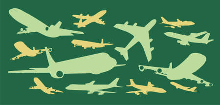 Air plane graphic illustration illustration