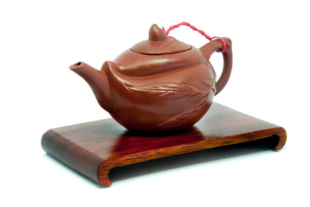stand teapot: Chinese Teapot on stand