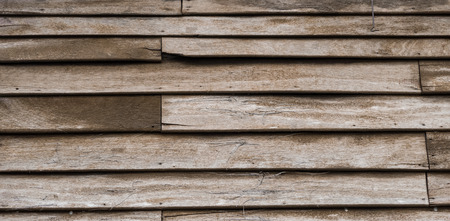 horizental: Old discolored wood texture background,tropical
