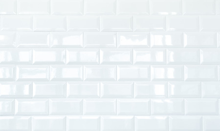White Ceramic Tile Brick Wall Texture Stock Photo, Picture And ...