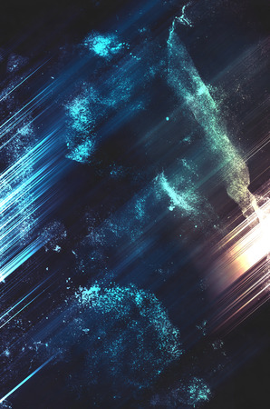 abstract background , Sci-Fi space retro style. Stok Fotoğraf