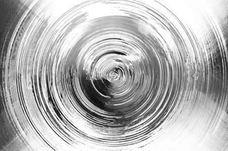 Circle mercury chrome texture background,sic-fi style.