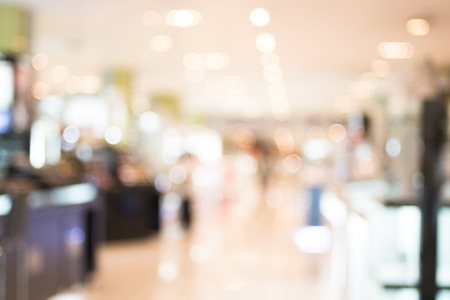 store blur background with bokeh photo