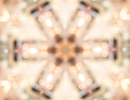 the dazzle: Abstract light Kaleidoscope