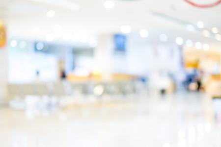 Unschärfe Hintergrund: Patient wartet see Arzt im Krankenhaus, abstrakten Hintergrund.