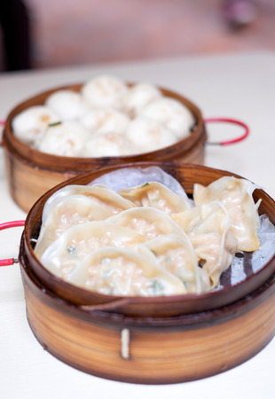 china cuisine: Chinese street food ,Kind of Chinese snacks. Stock Photo