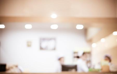 Arrière-plan flou: Vintage infirmière de filtre au comptoir de l'hôpital. Banque d'images - 37890842