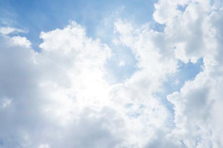 태양 버스트와 하늘, 자연 배경 스톡 콘텐츠
