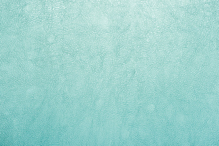 grünem Leder Textur Hintergrund. Standard-Bild