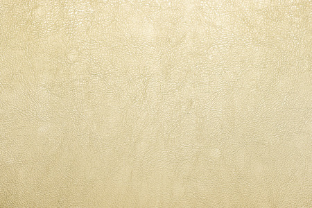 leather skin: gold leather texture background. Stock Photo