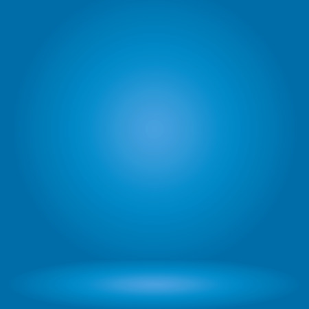 studio: blue studio room background,Background for adding your content. Stock Photo