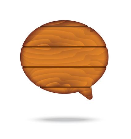 wood plank: wood plank speech bubble.