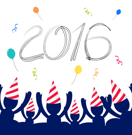 party down: 2016 happy new year