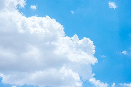 nebulosity: Blue sky and cloud natural background.