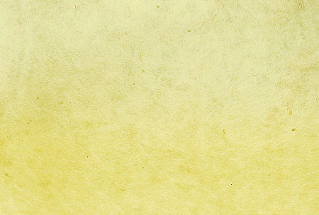 hand paper: yellow color mulberry paper texture background. Stock Photo