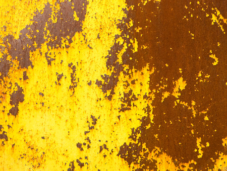 surface level: Close up metal rot texture background.