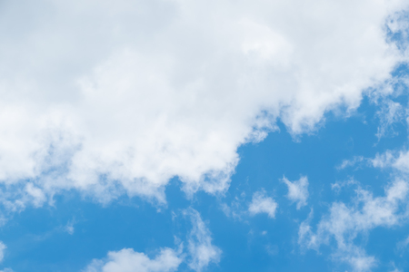 sky cloud: Cloud and Blue sky with sun ray ,Natural background.