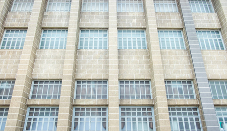 buliding: Vintage filter ,Close up window of building,texture background