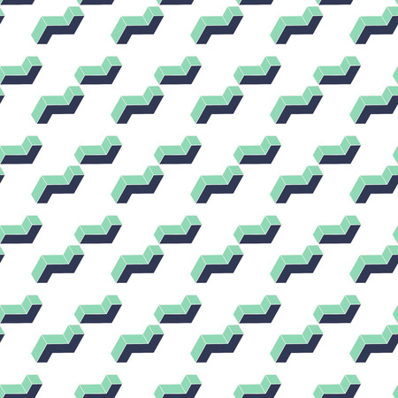dimension: Vector : 3d dimension shape Abstract pattern background.