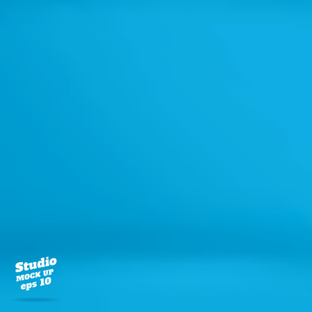 product display: Vector :Empty vivid turquoise studio room background ,Template mock up for display of product,Business backdrop.