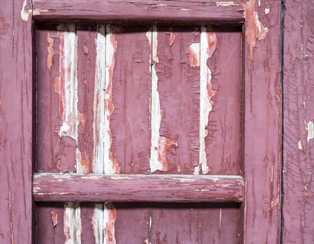 pealing: Grunge close up wood door texture background. Stock Photo