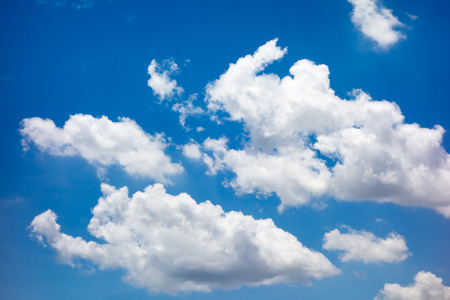 cloudy sky: Looking up at Nice blue sky and cloudy,Nature background.