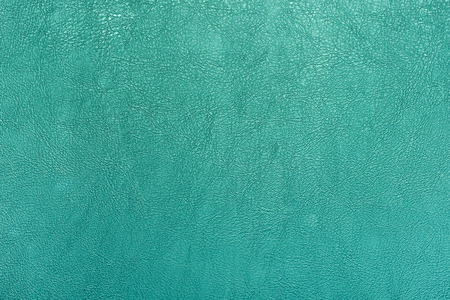 Turquoise color leather texture background. Stock Photo