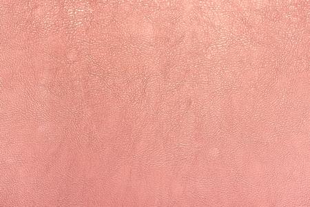 장미 골드 컬러 가죽 질감 배경.