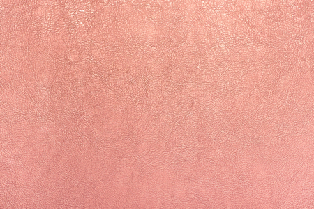 rose gold color leather texture background. Stock Photo