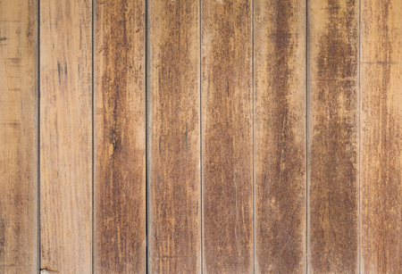old pale wood plank wall texture background.