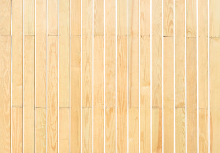 Beige wood plank vertical wall texture background isolated on white 免版税图像