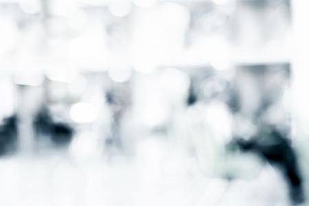 Blur background :Man reading newpaper at business building. Standard-Bild - 118844644